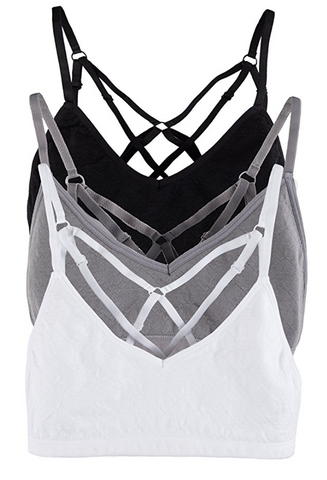 Cage Sports Bra in White