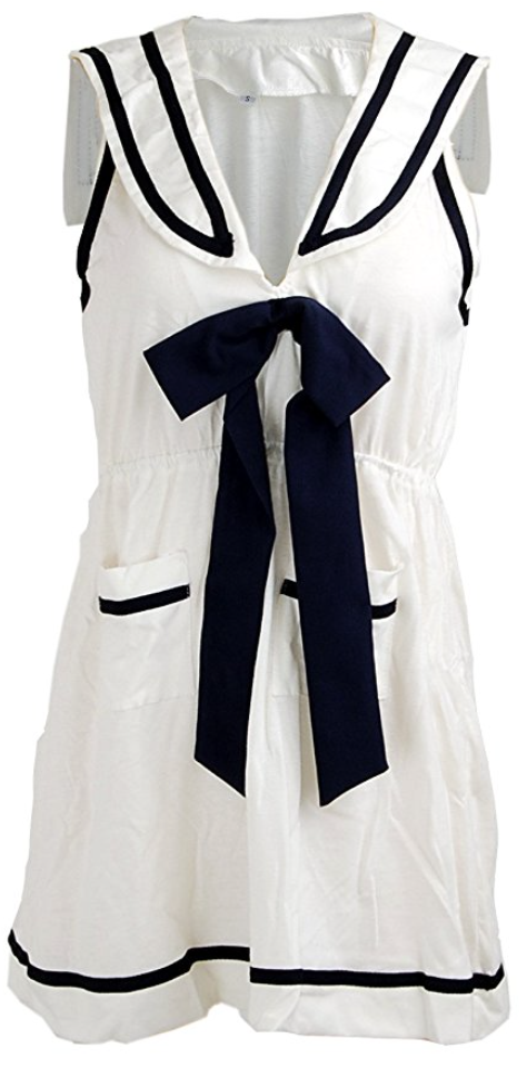 I am a sailor mini dress (S - Large)