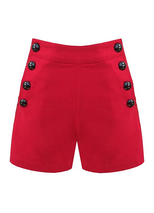 Red Hot Sailor Shorts (S - XLarge)