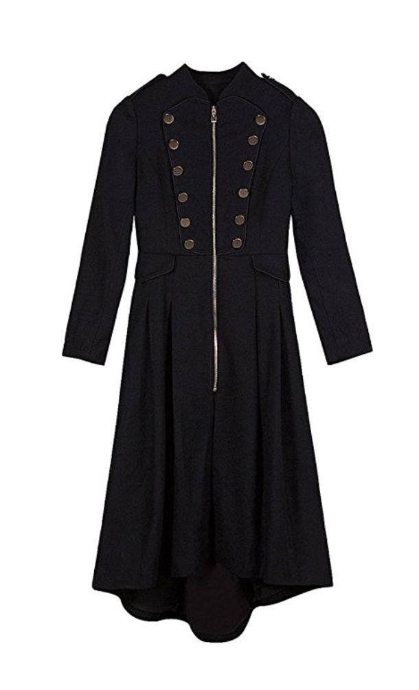 Lonely Hearts Band Military Waterfall Coat (Xsmall - XLarge)