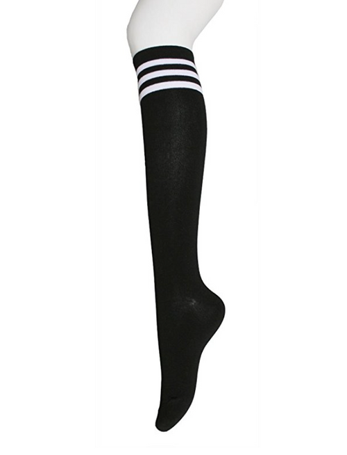 HOT HOT HOT Striped Workout Socks (1 PAIR)