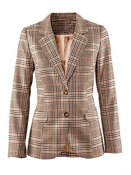Lightweight Cotton Tweed Spring Blazer (Sizes 4 - 12)