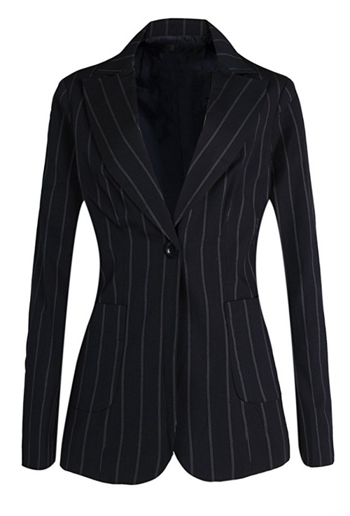 The Classic Pinstripe Blazer (Sizes 8 - 18)
