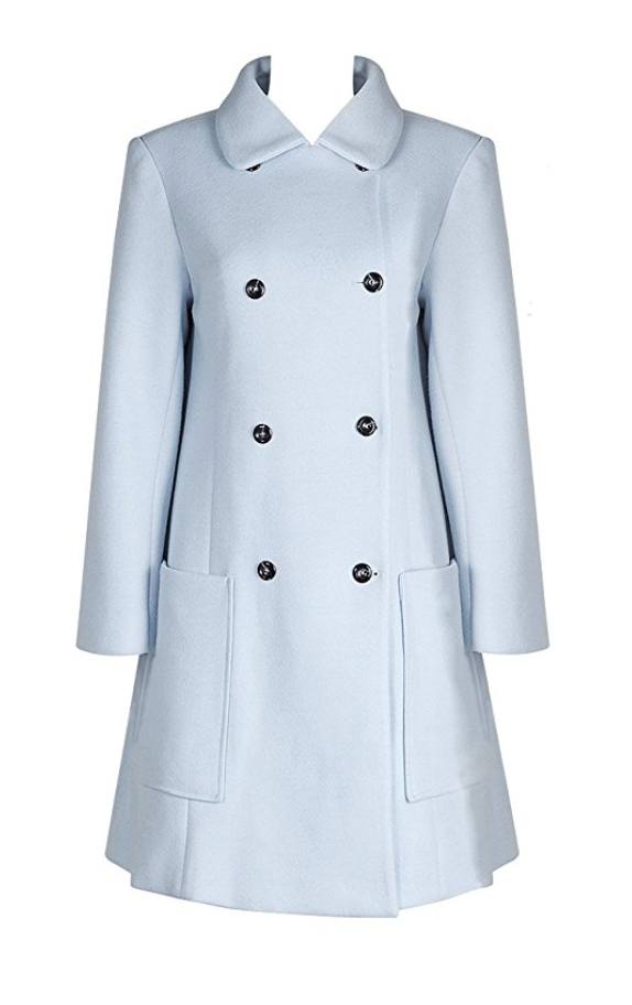 Powder Blue and Summer All Over Coat (Medium - X-Large)