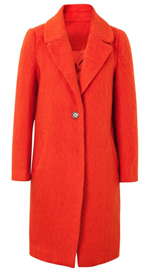 Fuzzy Gone Strawberry Coat (Small and Large)