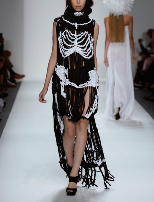 Mark and Estel Collection Couture Skeleton Gown