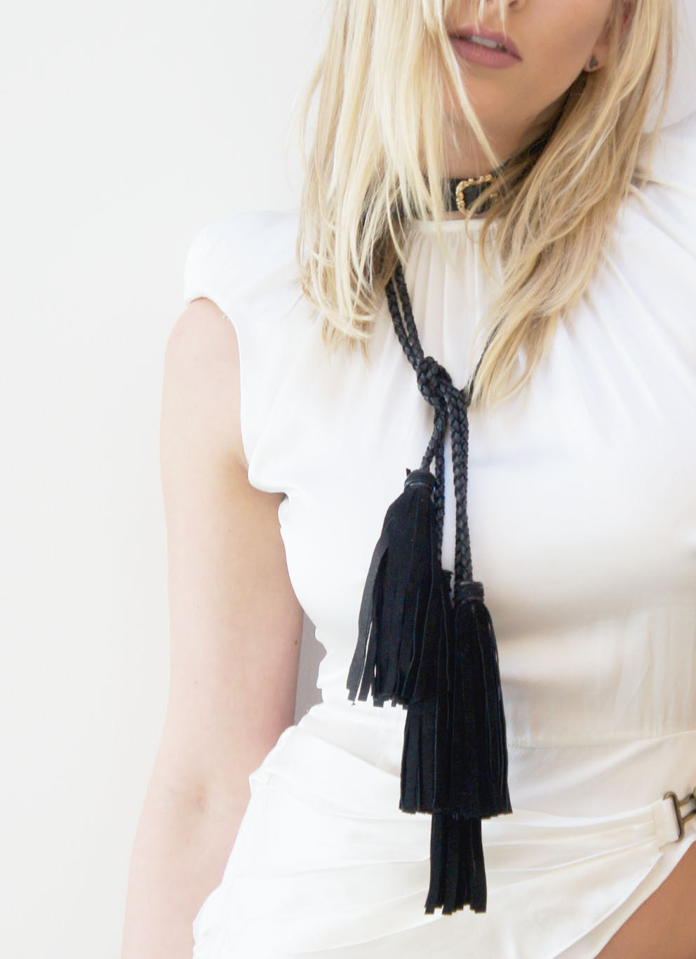 Mark and Estel X Rossmore Joni Tassel Choker