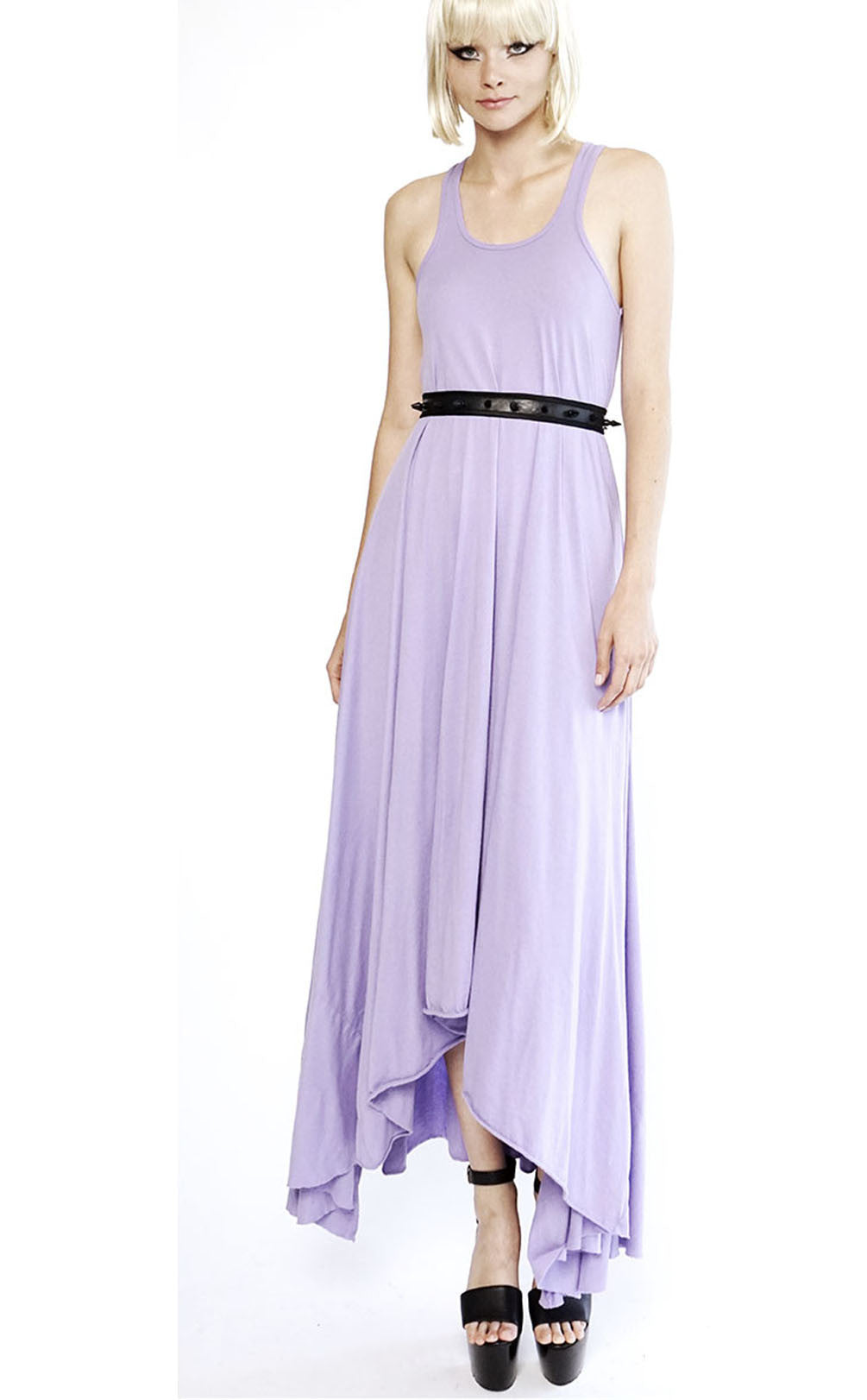 Mark and Estel / Skinny Triangle Swing Gown / Lilac, XS