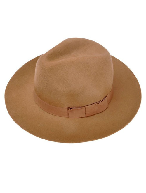 The Boyfriend Fedora in Camel