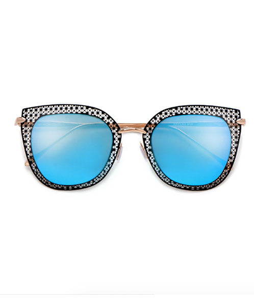 The Viceroy Sunnies in Teal