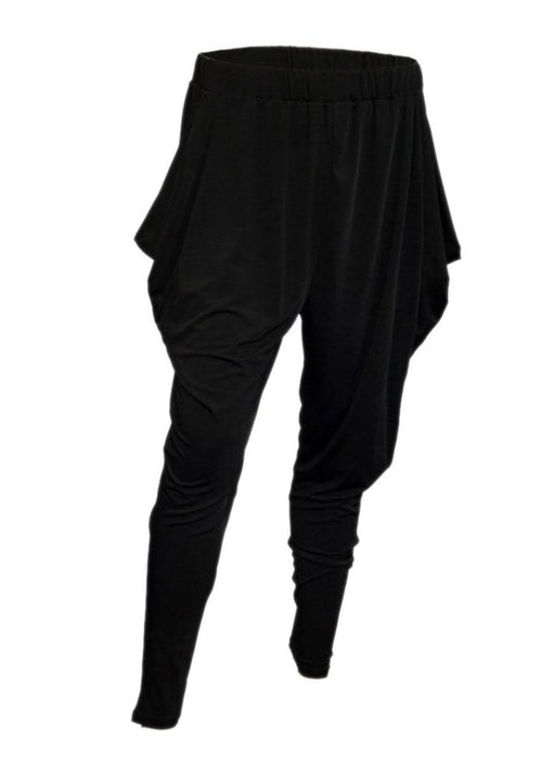 The Perfect Black Harem Pants  (Sizes XL - 3XL)