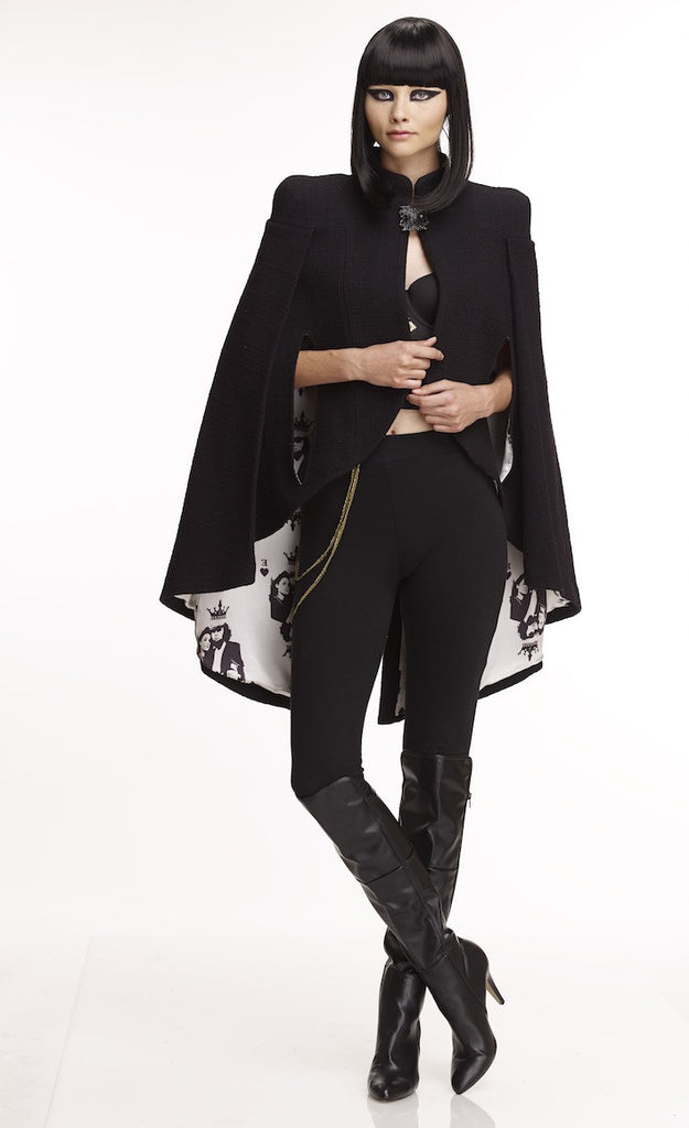 Mark and Estel Collection Embellished Cape Sizes 2 - 14