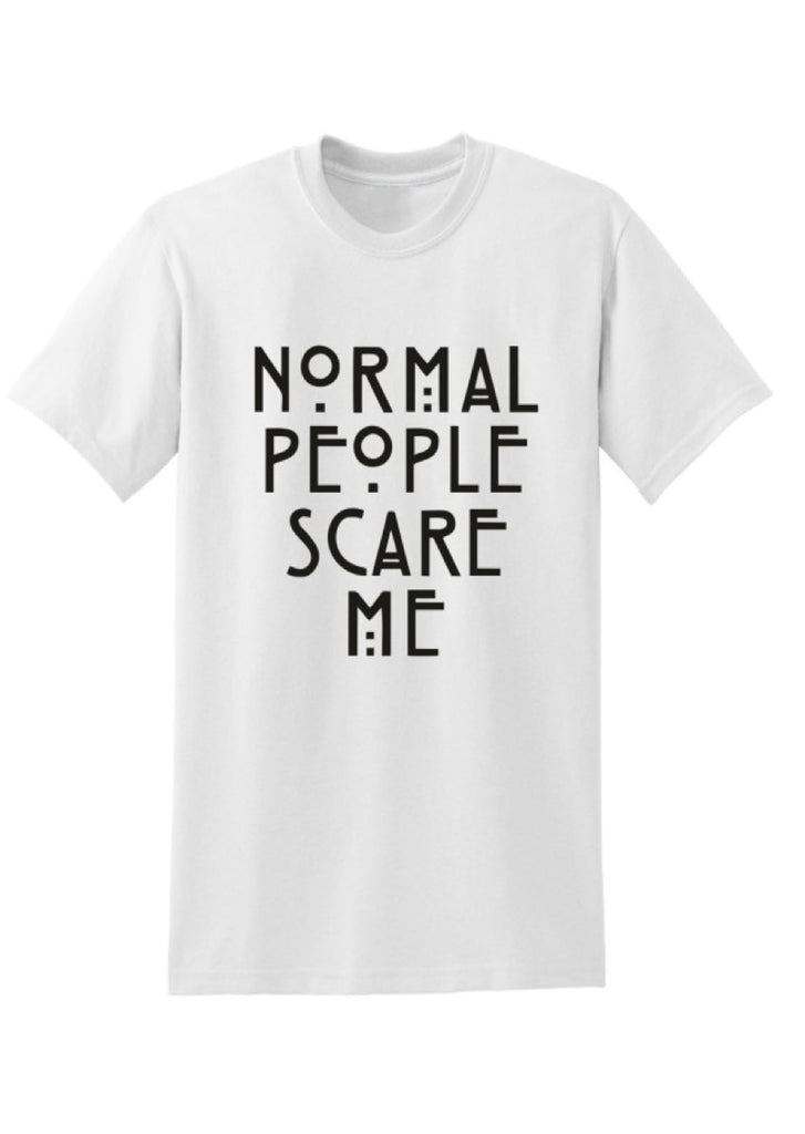 Fashion Rockstar Normal People Scare Me Tee (small)
