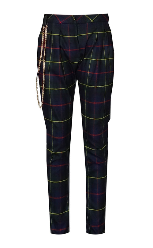 Mark and Estel Plaid Trouser