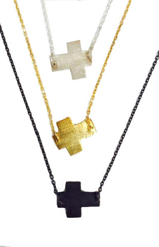 Mark and Estel X Rossmore 14K Double Diamond Necklace