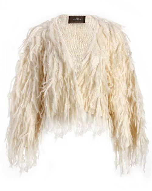 Chubacca Shaggy Sweater Jacket