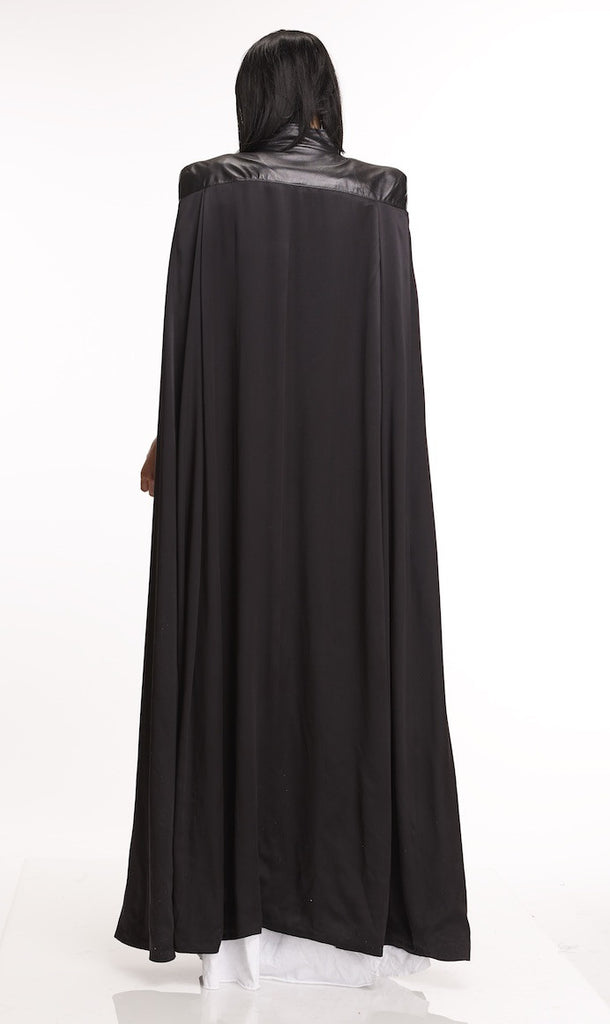 Mark and Estel Collection Silk Maxi Cape