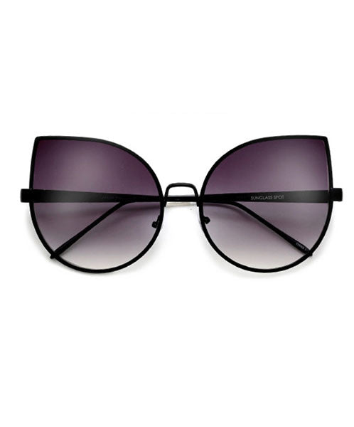 The Ultimate Cate Eye Wire Frame Black Sunnies