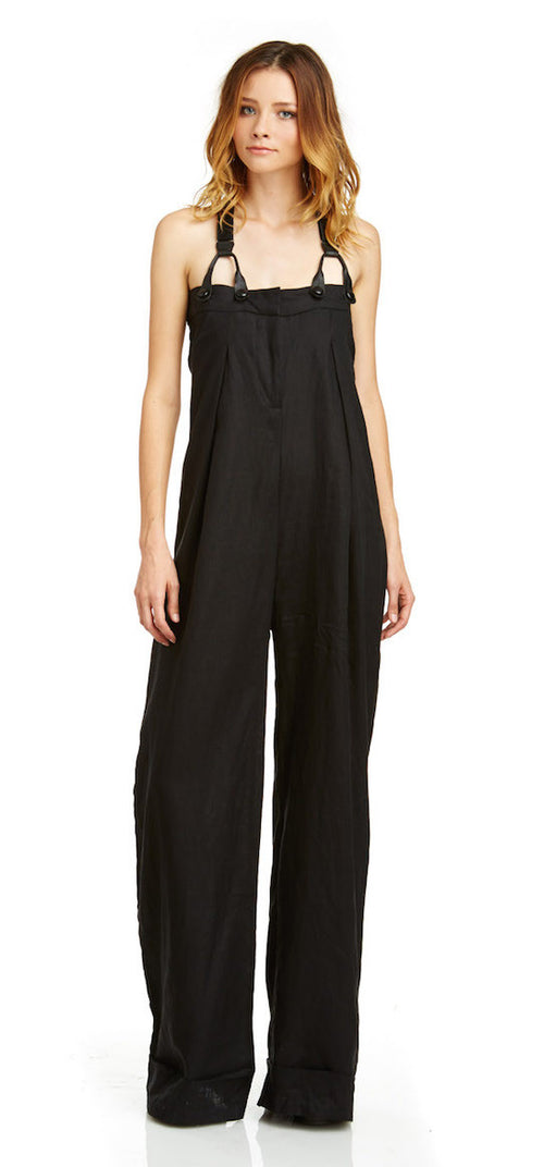 Mark and Estel Collection Suspender Jumpsuit