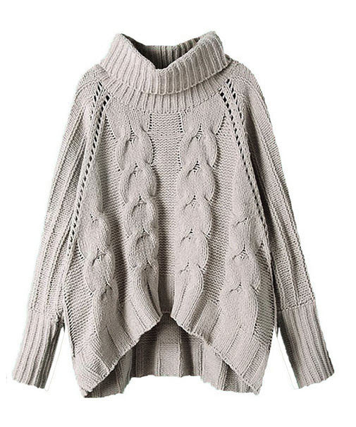 Softest Cable Knit Turtleneck Sweater EVER! (S - XL)