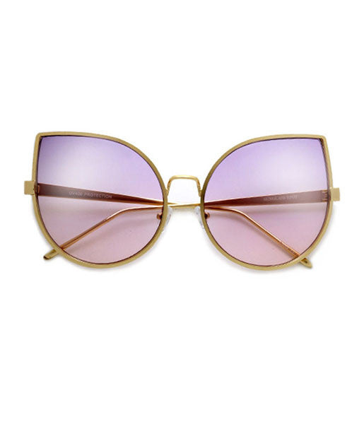 The Ultimate Cate Eye Wire Frame Ombre Sunnies