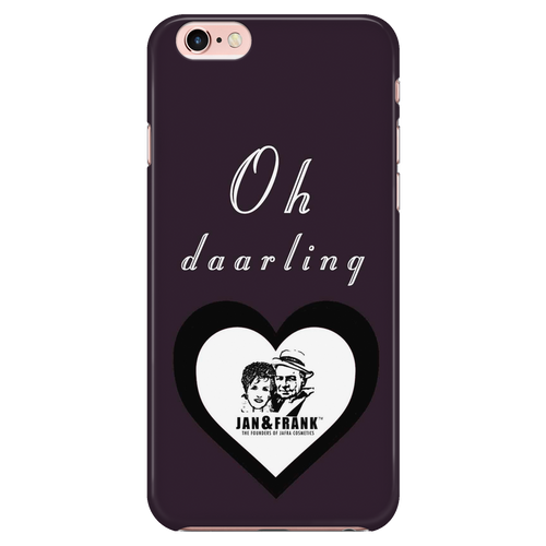 6/6S IPHONE CASE- JAN AND FRANK OH DAAAARLING HEART CASE