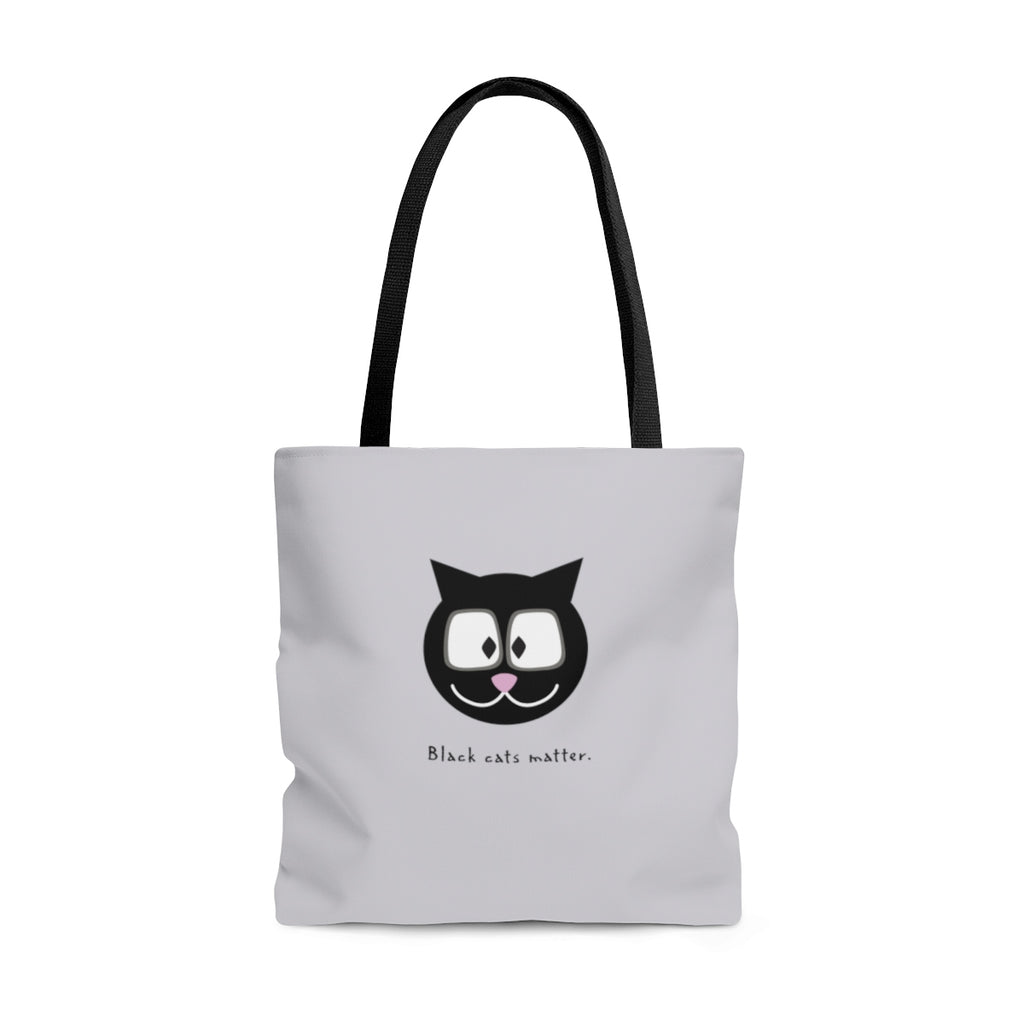 Black Cats Matter Tote Bag
