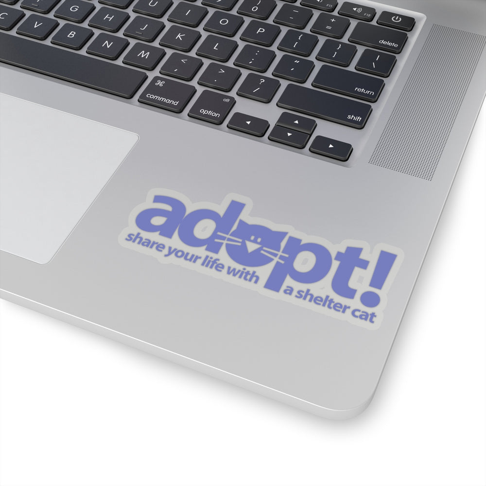 ADOPT! a Shelter Cat Stickers