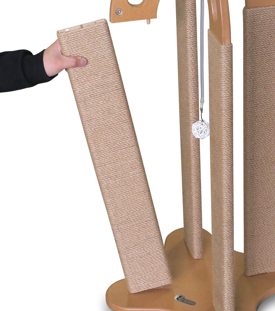 Two Replacement POSTS for Arched Scratching Post