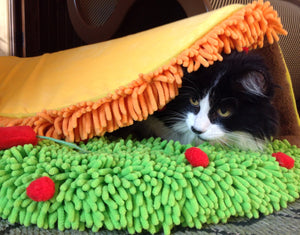 Taco Meow Cat Bed