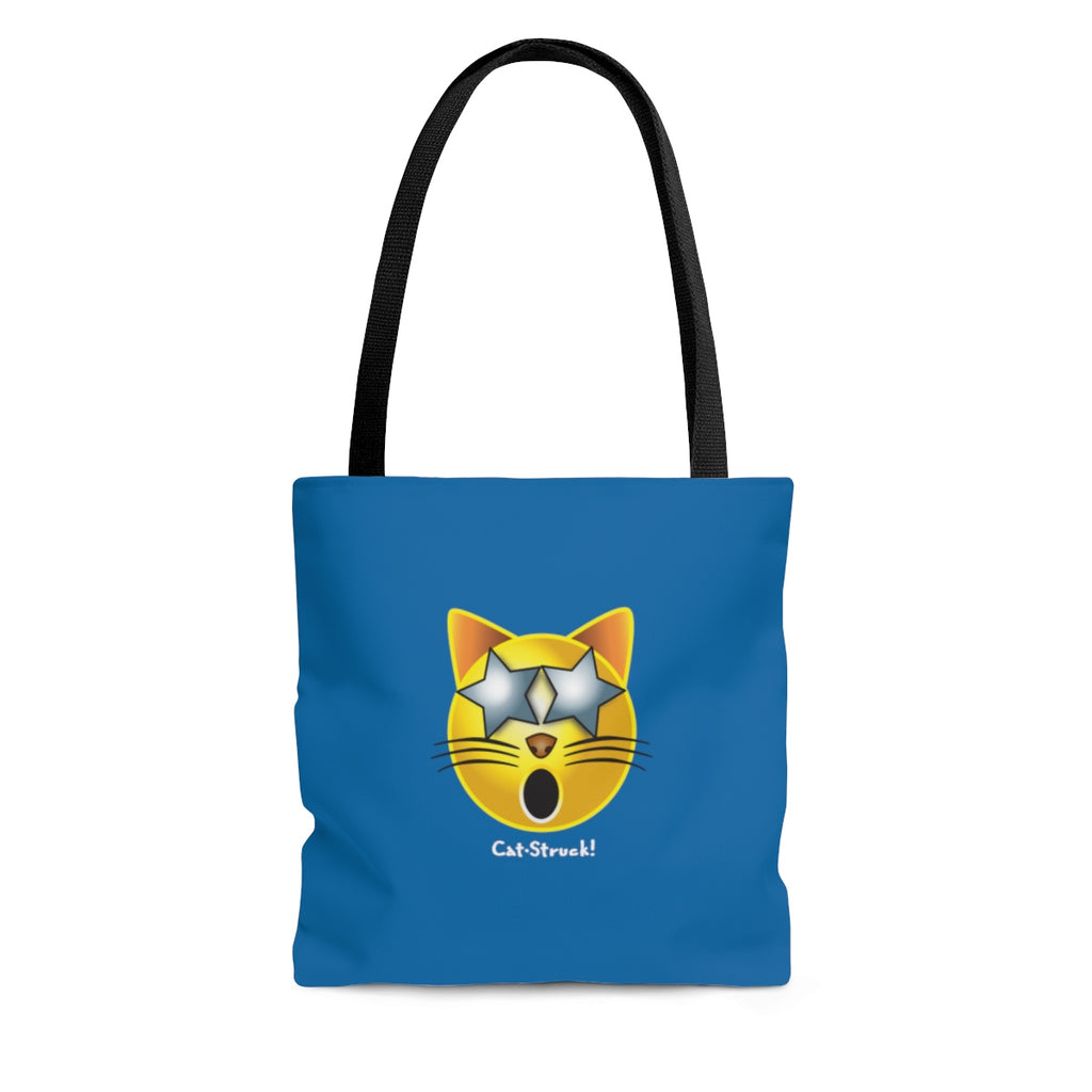 Cat-Struck Emoji Tote Bag