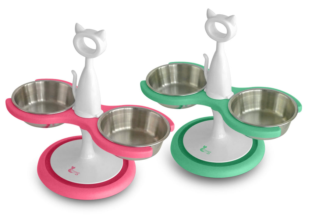 Ant-Proof Feeder with Shallow Bowls