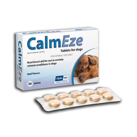 CIPLA VET - CalmEze Tablets for Dogs - Vetzcare On-line