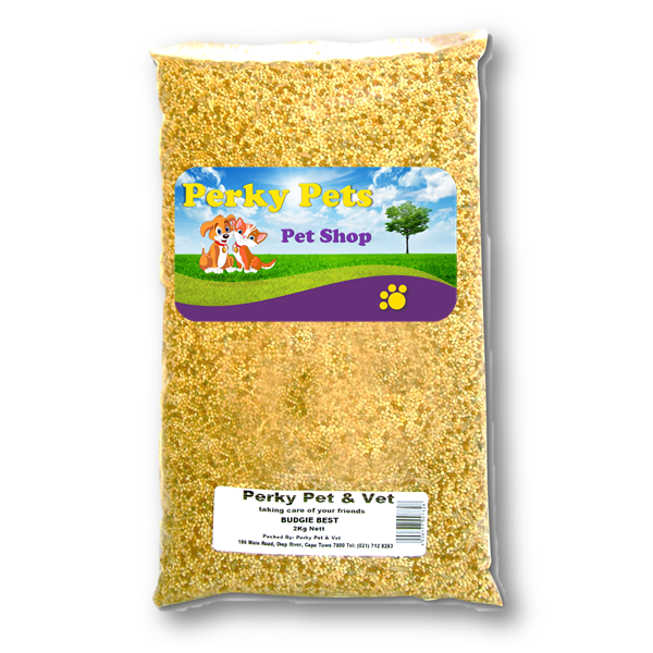 PERKY PETS - Bird Seed - Budgie Best Seed - VC