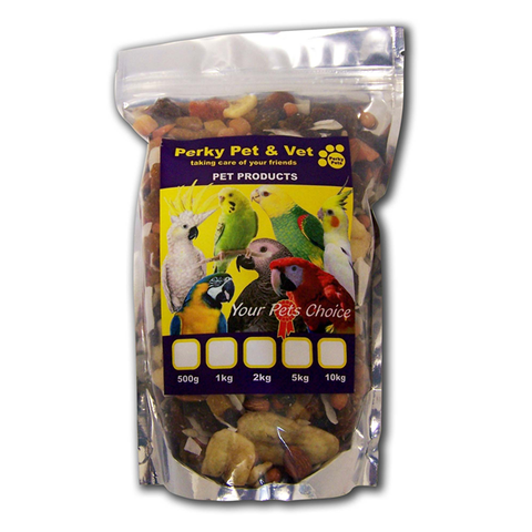PERKY PETS - Bird Seed - Tropical Mix - Vetzcare On-line