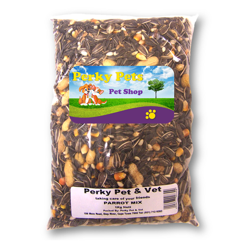 PERKY PETS - Bird Seed - Parrot Mix - Vetzcare On-line
