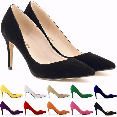womens work heel shoes