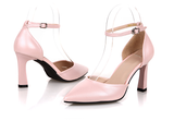 Womens Classic Trendy Ankle Strap High Heels