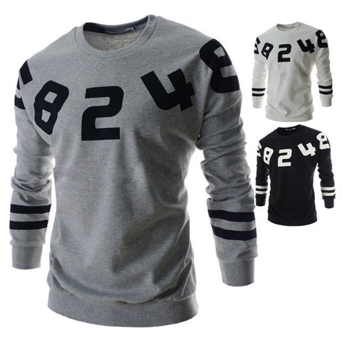 Mens Numbers Sweater