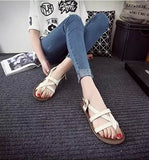 Charming Open Strap Ankle Sandals