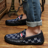 Mens Aztec Design Shoes