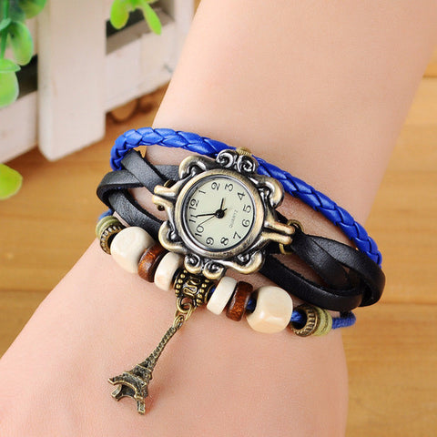 Stylish Eiffel Tower Retro Bracelet Watch