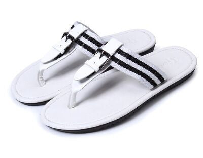Mens Buckle Thong Slipper