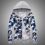 Mens Cool Camo Patterned Hoodie