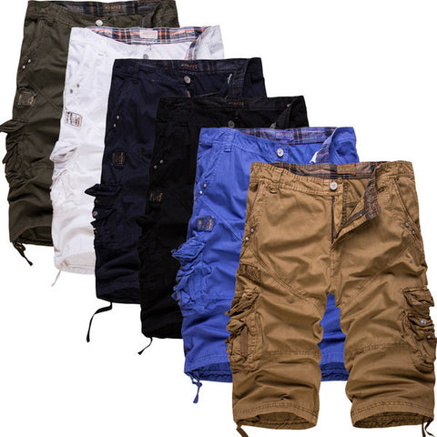 Mens Comfortable Cargo Shorts