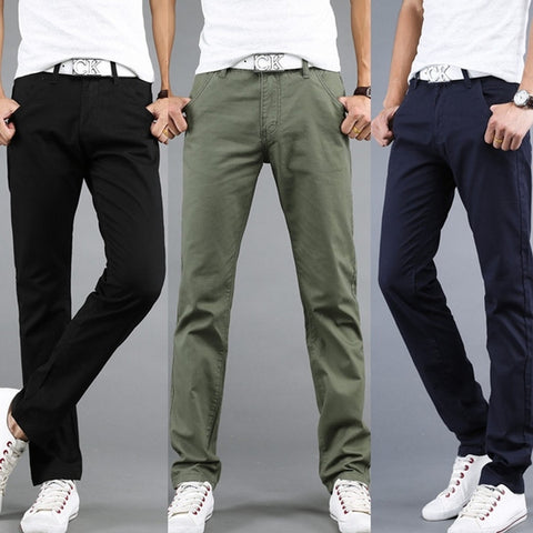 Mens Casual Cotton Pants