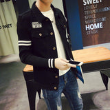 Mens Hip Collared Jacket