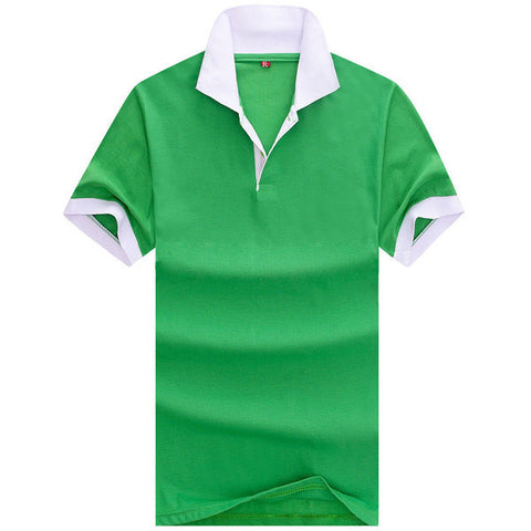 Mens Hip Outline Color Polo