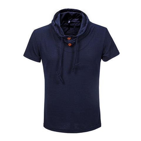 Mens Comfortable Hooded Tee