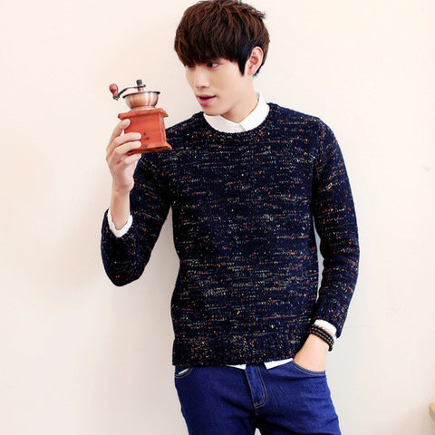Mens Casual Winter Comfortable Sweater
